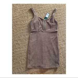 Wild fable green corduroy dress with tags